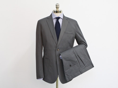 (select) daisy single suit . charcoal