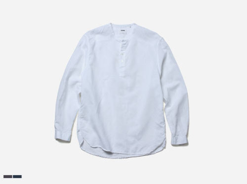 (select) ny linen herny-neck shirts