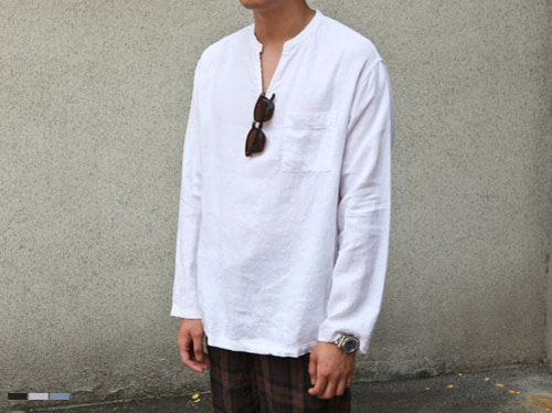 (select) natural linen t-shirts