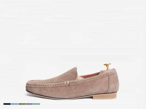 summer suade loafer