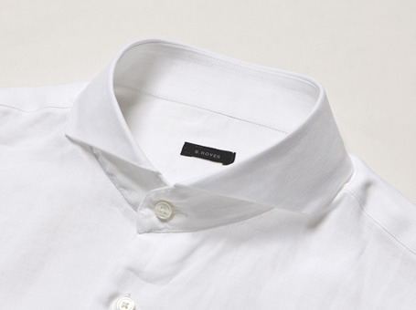 B.ROVER - CUT A WAY LINEN SH WHITES/S PREMIUM FABRIC